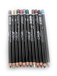 Недорогие -12 цветов Тени Карандаши для глаз Ручки и карандаши Составить Глаза Водонепроницаемость Стойкий косметический Товары для ухода за животными