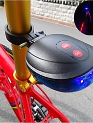 Недорогие -Задняя подсветка на велосипед / огни безопасности / задние фонари Светодиодная лампа Велоспорт Водонепроницаемый Батарейки таблеточного типа Батарея Велосипедный спорт / Многофункциональный