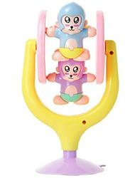 Недорогие -младенца высокого качества милый медведь с присоской Детские погремушки кольцо колокола игрушки