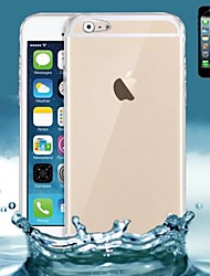 billiga -fodral Till Apple iPhone 6 Plus / iPhone 6 Ultratunt / Genomskinlig Skal Enfärgad Mjukt Silikon för iPhone 6s Plus / iPhone 6s / iPhone 6 Plus