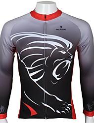 ILPALADINO Cykeltrøje Herre Langærmet Cykel Trøje Toppe Cykeltøj Hurtigtørrende Ultraviolet Resistent Åndbart Tegneserie Dyr Fritidssport