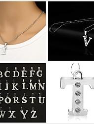Недорогие -Первоначальные ювелирные изделия Ожерелья с подвесками Сплав Ожерелья с подвесками , Для вечеринок Повседневные