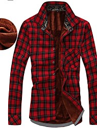preiswerte -Men's Slim Casual High-Quality Long-Sleeved Shirts