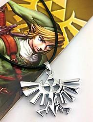 Gioielli Ispirato da The Legend of Zelda Cosplay Anime/Videogiochi Accessori Cosplay Collane Argento Lega Uomo