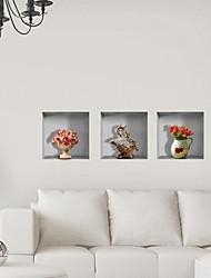 3d reticolo vaso in ceramica decalcomanie adesivi murali