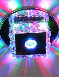 cheap -LightMyself™ Flush Mount Ambient Light - Crystal Mini Style LED, 90-240V, Warm White Cold White RGB, LED Light Source Included