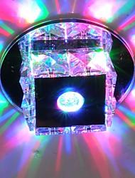 baratos -LightMyself™ Montagem do Fluxo Luz Ambiente - Cristal, Estilo Mini, LED, 90-240V, Branco Quente / Branco Frio / RGB, Fonte de luz LED