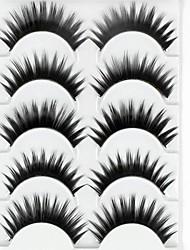 Eyelashes lash Eyelash Thick Natural Long Volumized Thick Fiber