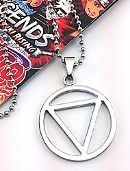 cheap -Jewelry Inspired by Naruto Hidan Anime Cosplay Accessories Necklaces Alloy Men's Hot
