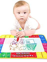 Недорогие -вода 45x29cm рисунок игрушки коврик&1 волшебная ручка / вода чертежной доске ребенок игра