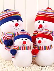 Недорогие -большой размер изысканный снеговик с вязаная шапка кукла подушки Рождественский подарок (1 шт)