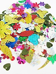 Colorful Glitter Sequin Handmade DIY Craft Material/Clothing Accessories(Random Pattern)