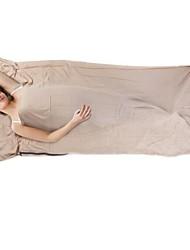 Недорогие -Коврик-пенка Спальный мешок Спальный мешок Liner на открытом воздухе Прямоугольный +15°C Односпальный комплект (Ш 150 x Д 200 см) Хлопок / Водонепроницаемость / Сохраняет тепло / Ультралегкий (UL)