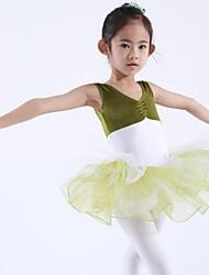 Abbigliamento da ballo per bambini Top / Abiti/Gonne / Tutù Per bambini Chiffon / Elastene / Velluto Senza maniche