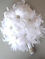 """Недорогие -Свадебные цветы Букеты Свадьба Кожа 4,72""""(около 12см)"""