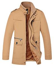 SMR Men's Fashion Stand Collar Jacket_2190B