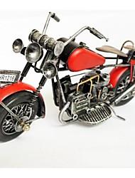Недорогие -красный железа мотоцикл цветовая модель ремесленных статьи обеспечения (цвет изображения)