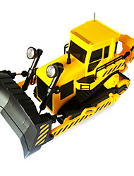 Недорогие -goldlok 2803-08 среднего размера RC автомобилей электрический пульт дистанционного управления бульдозер грузовик игрушечный автомобиль с легким звуком