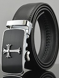 cheap -Men's Party/Evening Causal Automatic Buckle Business Leather Belt