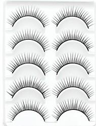 abordables -Cil Dense Naturel Epais Maquillage Quotidien Epais Longs Naturels Accessoires de Maquillage Haute qualité Quotidien