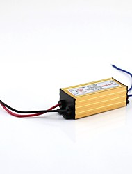 cheap -6-9x1W External LED Driver AC100-240V to DC 18-35V 300MA Waterproof  with Aluminium Case