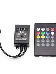 cheap -20 Keys Music IR Remote Controller for RGB LED Strip Light (12V 3X2A)