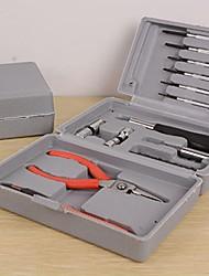 famiglia box set di strumenti pinza potabile per il telefono / computer di riparazione