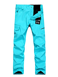 poliestere uomini esterni di neve Gsou impermeabile&pantaloni da sci antivento