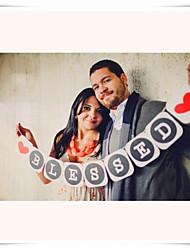 baratos -Festa de Casamento Papel Pérola Mistura de Material Decorações do casamento Tema Clássico Inverno Primavera Verão Outono Todas as Estações