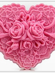 cheap -Mold Flower For Pie For Cookie For Cake Silicon Rubber Eco-friendly DIY 3D