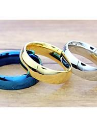 preiswerte -Damen Statement-Ring Silber Blau Golden Titanstahl Modisch Hochzeit Party Alltag Normal Sport Modeschmuck