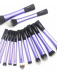 cheap -Sedona® 14pcs Makeup Brushes set Purple Powder/Foundation/Concealer/Blush brush Shadow/Eyeliner/Brow Brush Makeup Kit Cosmetic Brushes