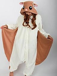 kigurumi Pyjamas Ecureuil Souris Costume Marron Polaire Kigurumi Collant / Combinaison Cosplay Fête / Célébration Pyjamas Animale