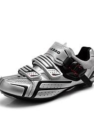Tiebao Tênis para Ciclismo Sapatos para Ciclismo Homens Mulheres Unisexo Anti-desgaste Ao ar Livre Bicicleta de EstradaPele PVC Malha
