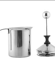 economico -acciaio inox pompa schiuma a doppia latte