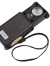 Недорогие -портативные высокие раз с источником света лупы / Идентификация ювелирных изделий лупы