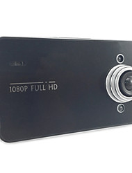 economico -k6000 1080p / Full HD 1920 x 1080 Sensore di movimento / Video Out / 1080p Automobile DVR 120 Gradi Angolo ampio CMOS da 5.0 MP 2.4