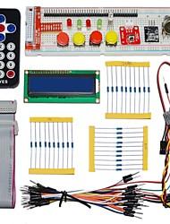 Недорогие -Keyes электронные компоненты упаковки для Raspberry Pi (пульт дистанционного управления черный)
