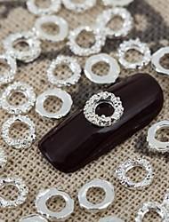 billige -Smuk Neglekunst Manikyr pedikyr Metall Frukt / Blomst / Abstrakt Daglig / Tegneserie / Nail Smykker