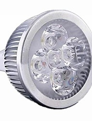 5W GU5.3(MR16) LED Spotlight MR16 4 High Power LED 500 lm Warm White Cold White Warm: 2800-3200K ; Cool: 6000-6500K K Dimmable DC 12 AC 12 1pc