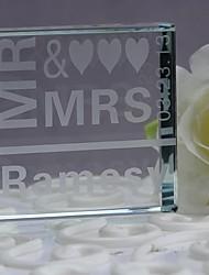 economico -cake topper cristallo anniversario di matrimonio con confezione regalo ricevimento di nozze