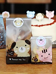 120pcs Cute Animal Stickers Gift Candy Box Baking Craft Packaging Seal Favors Baby Shower Wedding Party Decorations