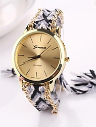 Women Big Circle Dial  National Hand Knitting Brand Luxury Lady Watch C&D-283 Cool Watches Unique Watches