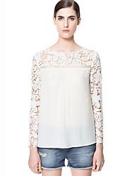 economico -DONNE - T-shirt - Sexy Maniche lunghe Chiffon