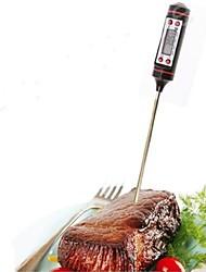 Недорогие -1 шт. Измерительный инструмент из нержавеющей стали электронный термометр для пищевого супа