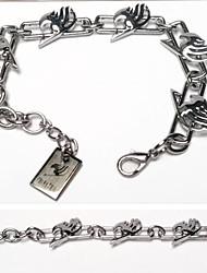 abordables -Bijoux Inspiré par Fairy Tail Cosplay Manga Accessoires de Cosplay Bracelet Alliage Homme nouveau