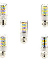 abordables -5W 450 lm E14 G9 E26/E27 Ampoules Maïs LED T 69 diodes électroluminescentes SMD 5730 Blanc Chaud Blanc Froid AC 220-240V