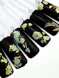 billige -24 Neglekunst Klistermærke 3D Negle Stickere Blomst Bryllup Makeup Kosmetik Neglekunst Design