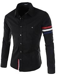 povoljno -Majica Muškarci-Chic & Moderna Dnevno Jednobojni Classic Style