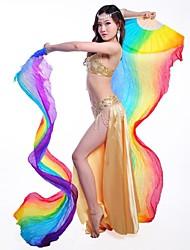 abordables -Accesorios de Baile Accesorios de Escenario Mujer Actuación Entrenamiento Seda